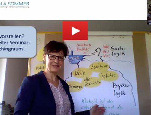 """Klärungshilfe bei Teamkonflikten """"auf Distanz"""": mein virtueller Seminar- und Coachingraum"""